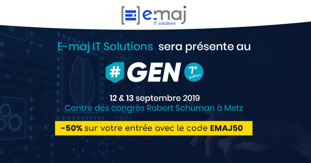 E-maj It Solutions au Salon #GEN